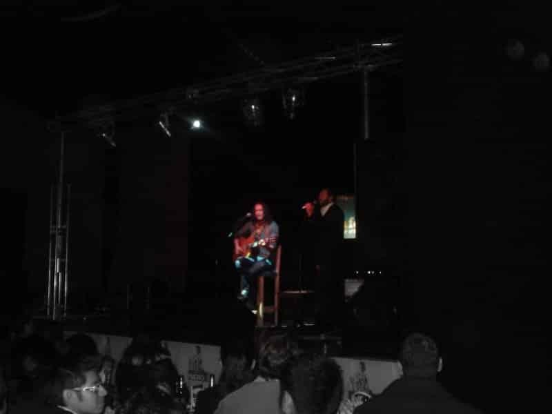 as cantamos con edgar oceransky en sala forum puebla