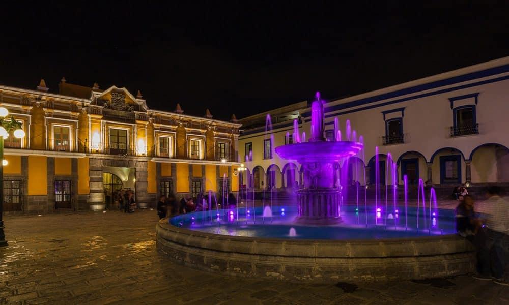 Fuente del Teatro Principal de Puebla